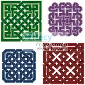 cross stitch pattern Celtic Design Collection 1