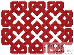 cross stitch pattern Celtic Chart 9