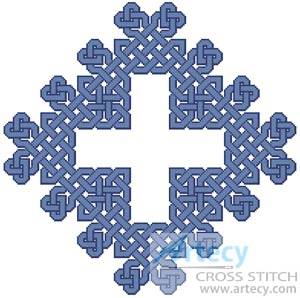 cross stitch pattern Celtic Chart 8