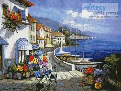 cross stitch pattern European Memories