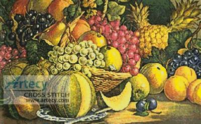 cross stitch pattern Fruit