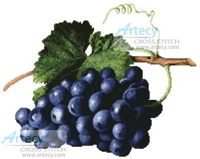cross stitch pattern Fruit of the Vine