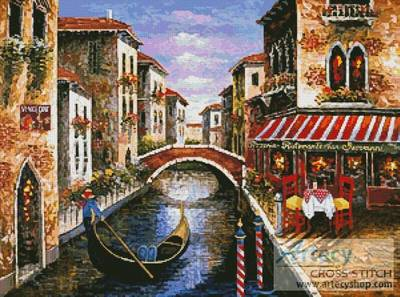 cross stitch pattern Italian Summer Memories