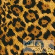 cross stitch pattern Leopard Cushion