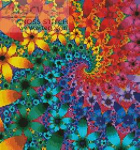 cross stitch pattern Mini Fractal