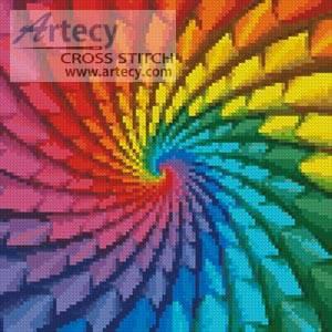 cross stitch pattern Mini Fractal Design
