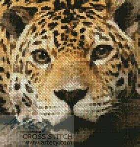 cross stitch pattern Mini Jaguar