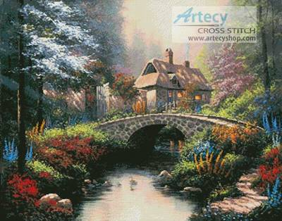 cross stitch pattern Morning Splendor