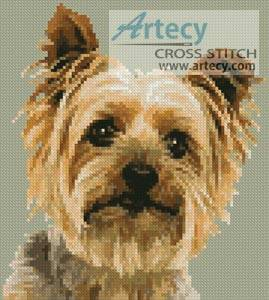 cross stitch pattern Mini Silky Terrier