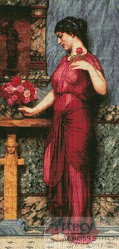 cross stitch pattern An Offering to Venus