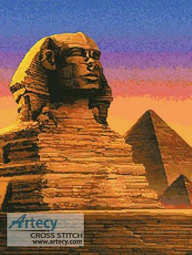 cross stitch pattern Sphinx