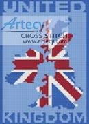 cross stitch pattern United Kingdom