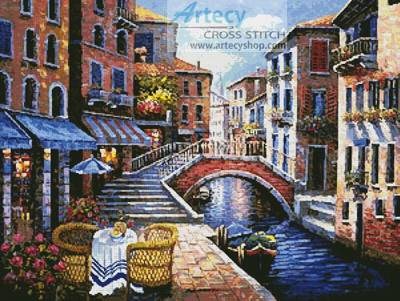 cross stitch pattern Venetian Memories