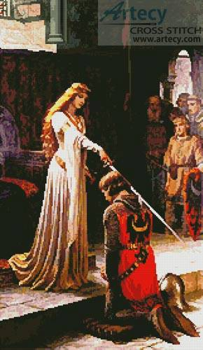 cross stitch pattern The Accolade