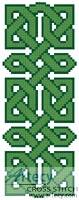 cross stitch pattern Celtic Bookmark 7