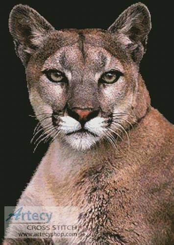 cross stitch pattern Cougar