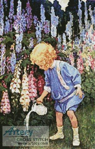 cross stitch pattern Fairy Gardens