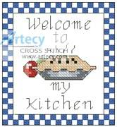 cross stitch pattern Kitchen