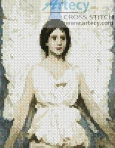 cross stitch pattern Mini Angel