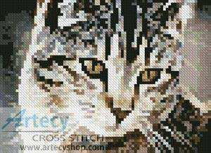 cross stitch pattern Mini Cute Cat