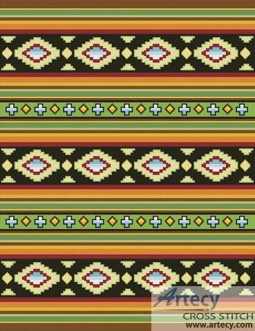 cross stitch pattern Mexican Pattern