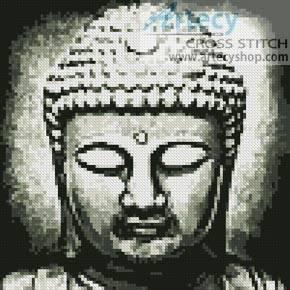 cross stitch pattern Mini Buddha
