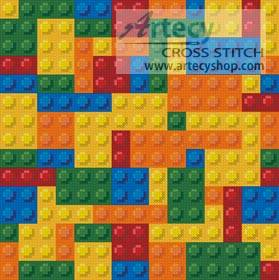 cross stitch pattern Mini Blocks
