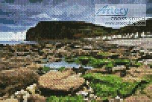 cross stitch pattern Mini Pennan, Scotland