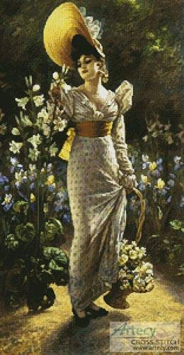cross stitch pattern Princess Elvina of Bavaria