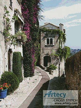cross stitch pattern Provence