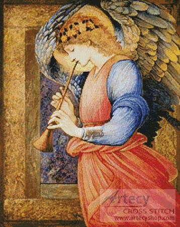 cross stitch pattern An Angel