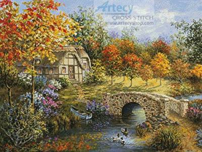 cross stitch pattern Autumn Beauty