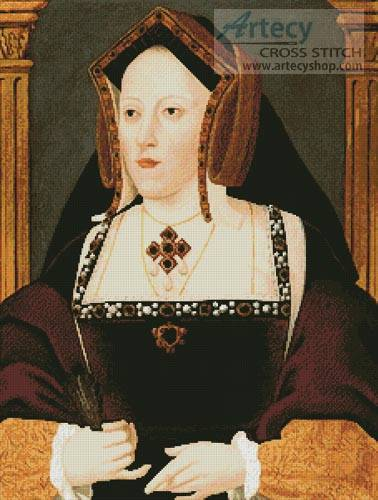 cross stitch pattern Catherine of Aragon