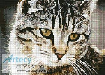 cross stitch pattern Cute Cat