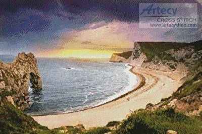 cross stitch pattern Durdle Door