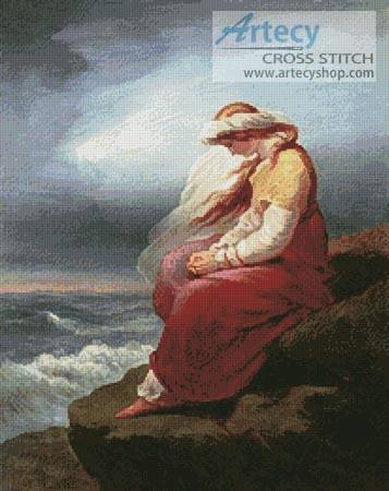 cross stitch pattern Medora