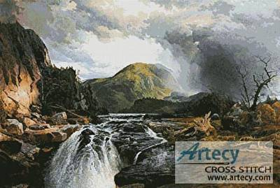 cross stitch pattern The Wilds of Lake Superior