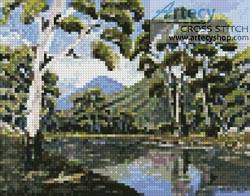 cross stitch pattern Mini Bush Creek