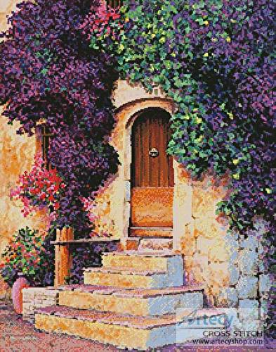 cross stitch pattern La Grange