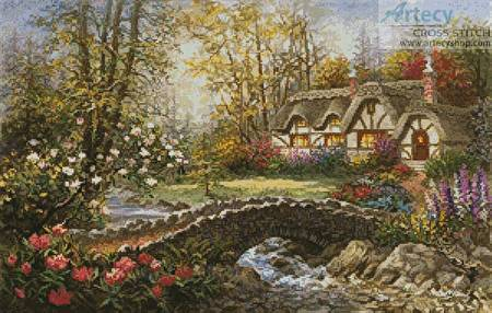 cross stitch pattern Home Sweet Home