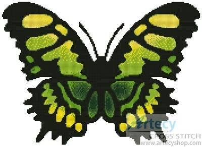 cross stitch pattern Butterfly Design 1