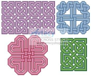 cross stitch pattern Celtic Design Collection 2