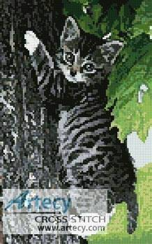 cross stitch pattern Hang in There