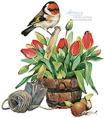 cross stitch pattern Spring Beauty 1