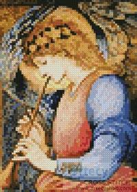 cross stitch pattern Mini An Angel