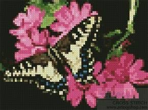 cross stitch pattern Mini Butterfly 3