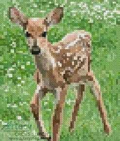 cross stitch pattern Mini Fawn