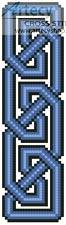 cross stitch pattern Celtic Bookmark 9