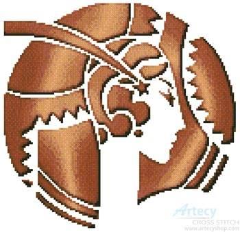 cross stitch pattern Deco