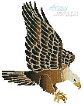cross stitch pattern Eagle